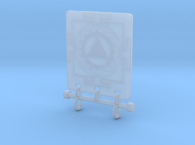 Kali Yantra Pendant 3d printed