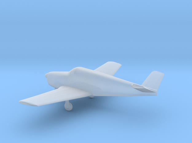 Beechcraft B35 Bonanza - Z Scale in Smooth Fine Detail Plastic