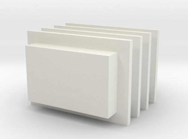 engine block in White Natural Versatile Plastic