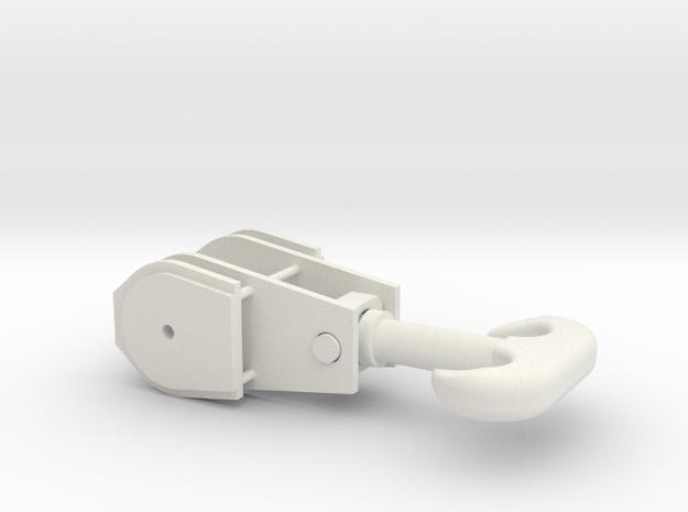 QL_Kranhaken in White Natural Versatile Plastic