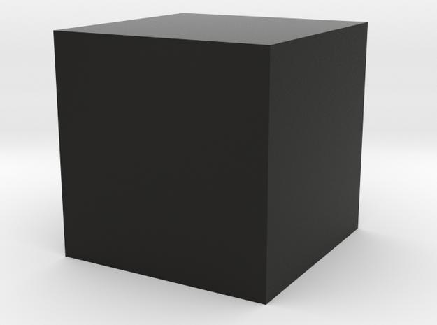 16mm cube 3d printed