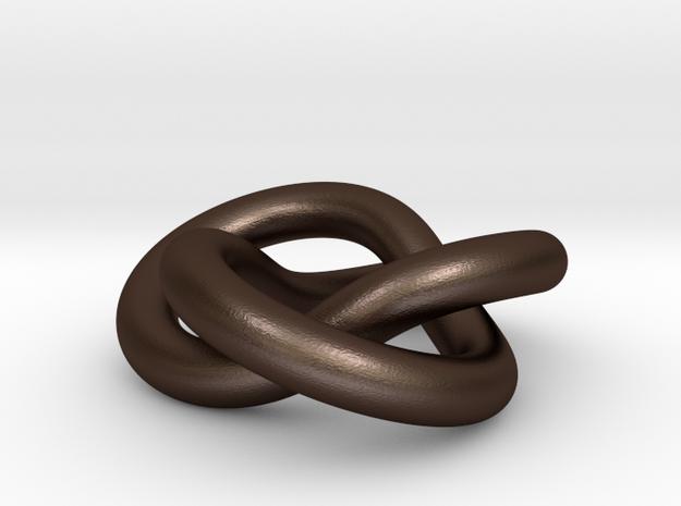 Trefoil knot 3d printed