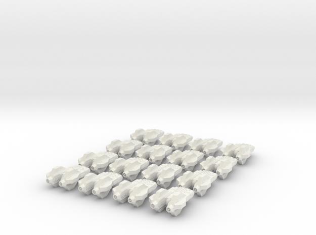 vanquisher bomber fleet in White Natural Versatile Plastic