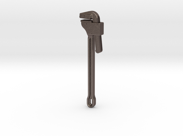 Pipe Wrench 1/2 scale 3d printed