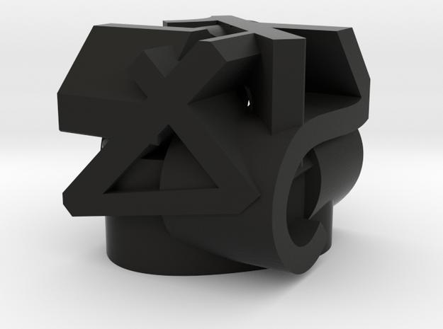 Frameless D6 3d printed