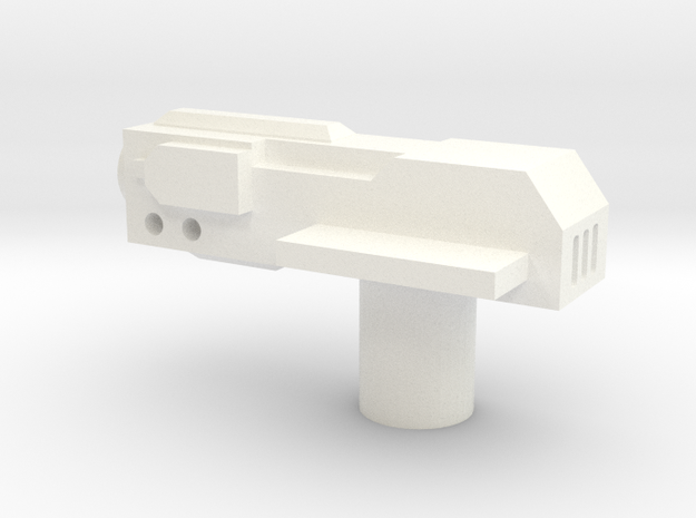 Sunlink - Revoltr Gun in White Strong & Flexible Polished