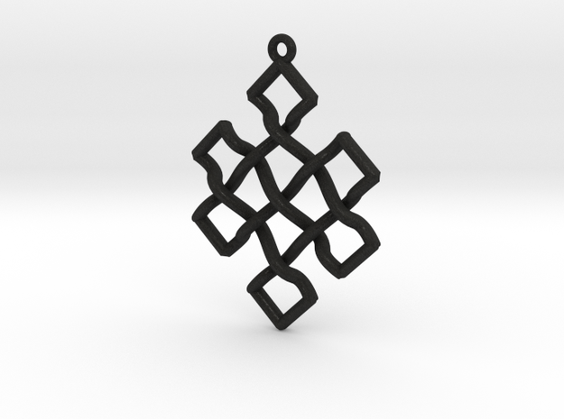 Endless Knot Pendant 3d printed