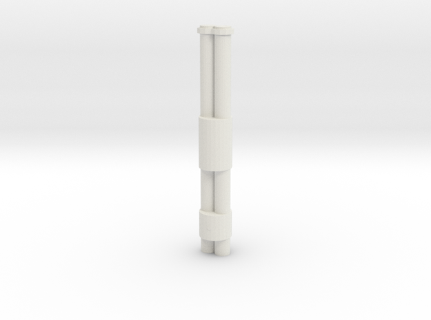Jackhammer Rocket Barrels in White Strong & Flexible