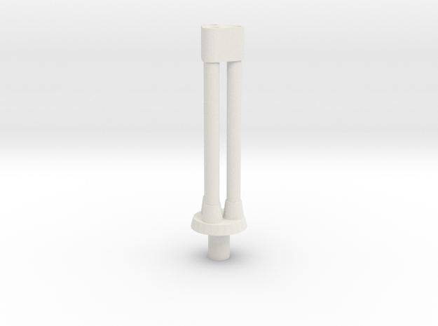 HMG Barrels in White Natural Versatile Plastic
