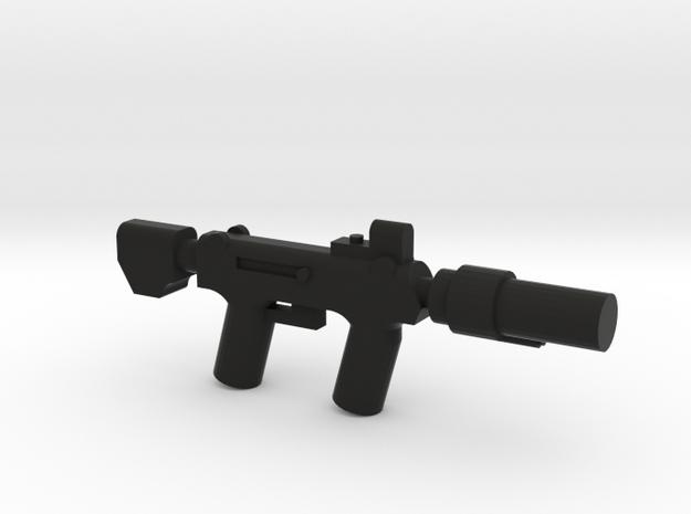 Silenced SMG 3d printed