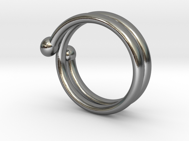 small hand ring 3d printed