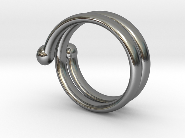 big hand ring 3 3d printed