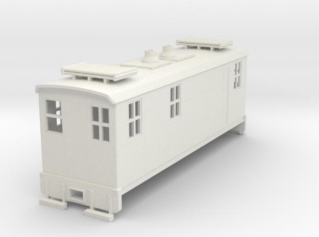 TTn3 Boxcab in White Natural Versatile Plastic