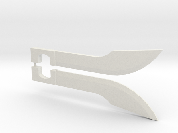 Prime Blades (pair) in White Natural Versatile Plastic
