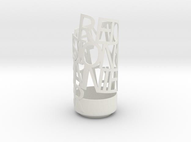 REDDIMENSIONGLASS 3d printed