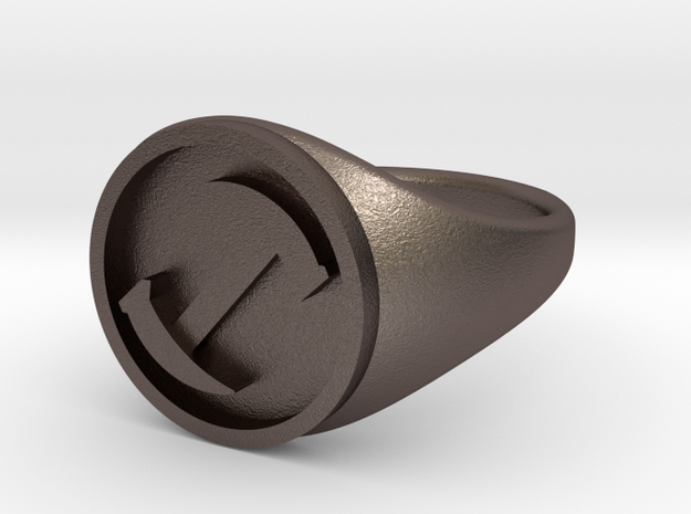Simpsons Stonecutters ring size 15 3d printed