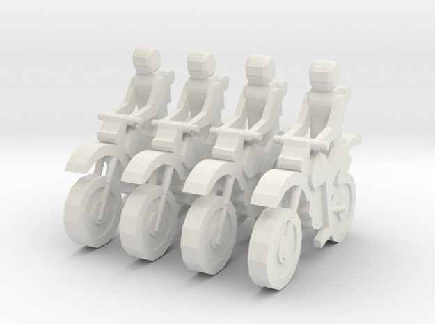 MG72-01A Dirt Bike Team 3d printed