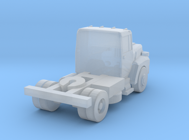 Mack Semi Truck 2 - Z scale in Smooth Fine Detail Plastic