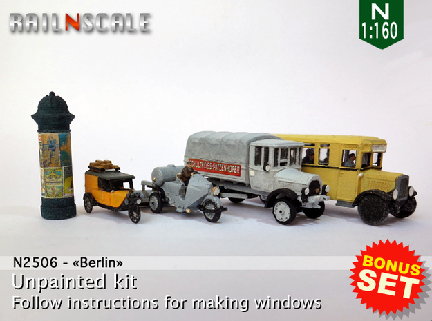 BONUS SET Berlin (N 1:160)