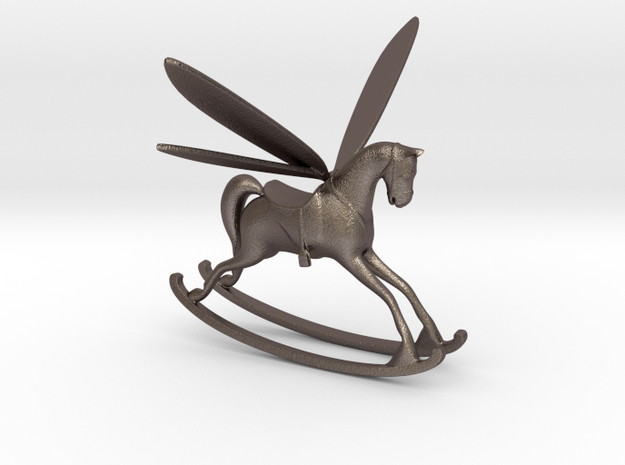 Rocking Horse Fly 3d printed