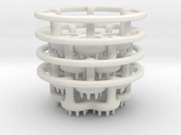 LED-holders for PET bottles (larger) 3d printed