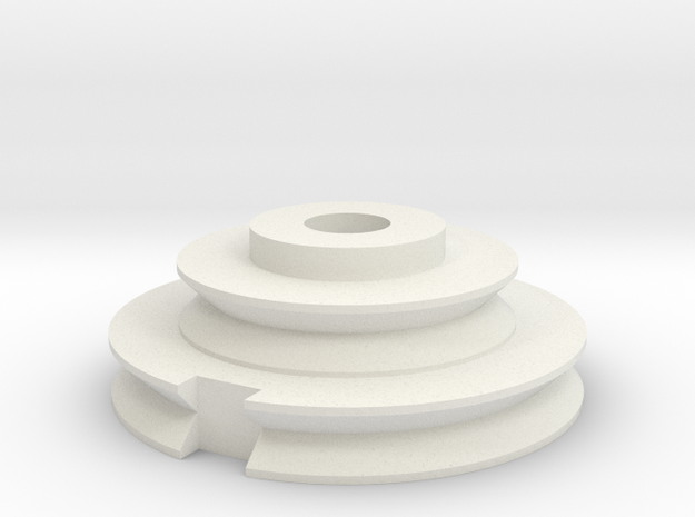 imperial disc greeblie in White Natural Versatile Plastic