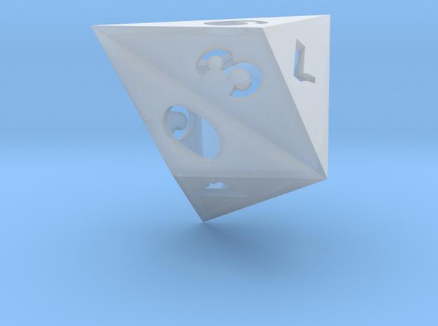Triakis dice (hollow) 3d printed