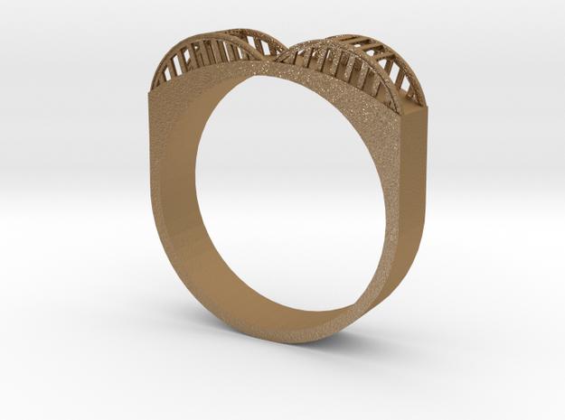 Howard Street Bridge Ring 3d printed