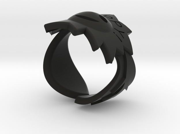 happy ring 3d printed