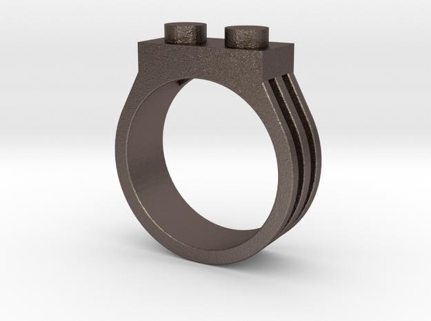 Brick Ring-2 Stud, Size 10