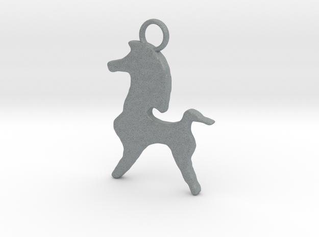 Bucephalus Horse Pendant 3d printed