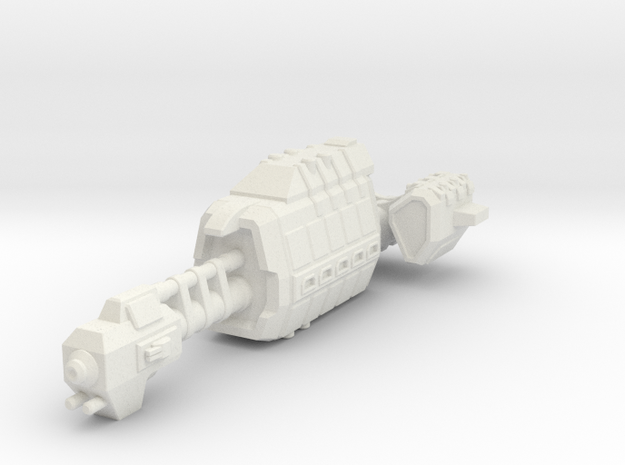 USASF Auxiliary Carrier in White Natural Versatile Plastic