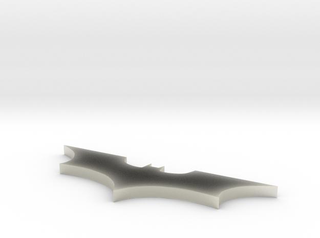 Batman Logo Necklace in Transparent Acrylic