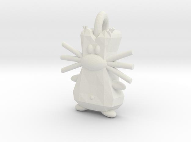 Kunibert S2 in White Natural Versatile Plastic