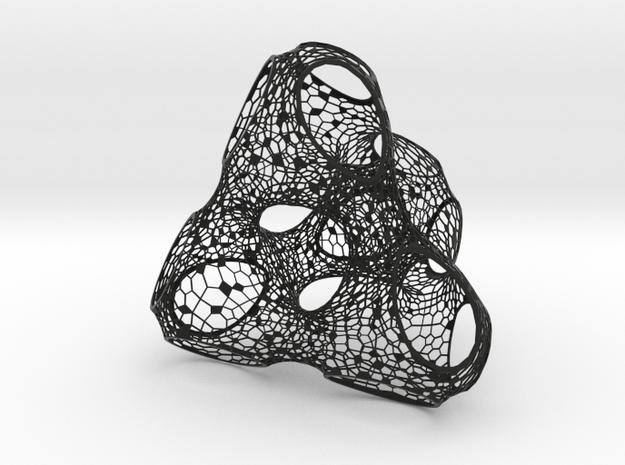 Tetrahedral 3d printed
