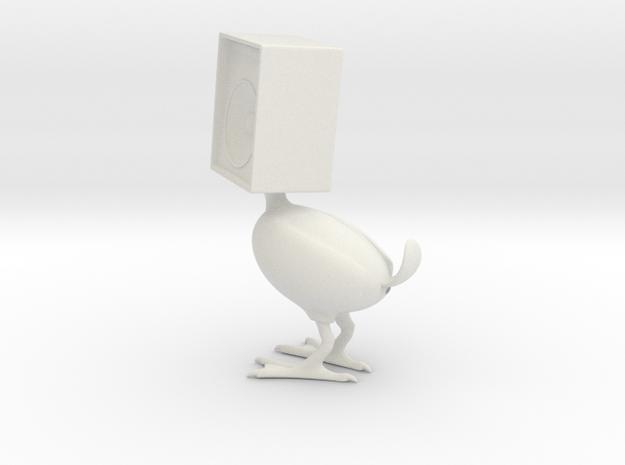Speaker Bird in White Strong & Flexible