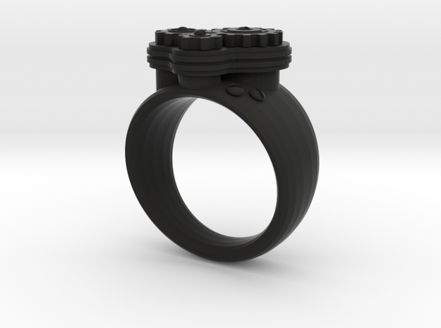 Gea Ring Type-1 3d printed