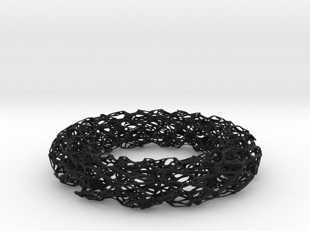 Scribbled Bracelet 3d printed