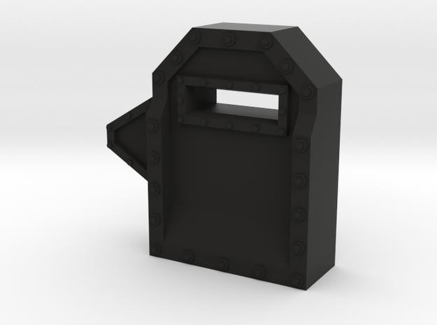 Wall Segment Right Gun Port 3d printed