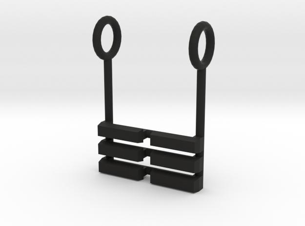 I Ching Trigram Pendant - K'un Lower 3d printed