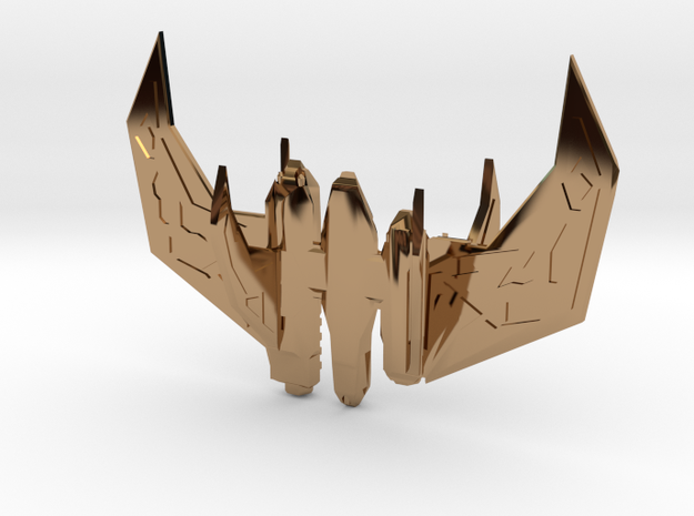 point tooth fighter 3d printed Description