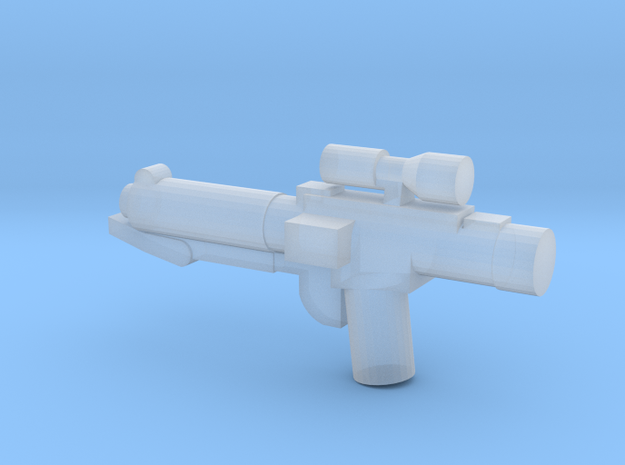 E-11 Blaster in Smooth Fine Detail Plastic