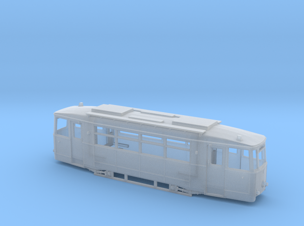 Gotha T2 - Variante Lockwitztalbahn TT (1:120) in Smooth Fine Detail Plastic