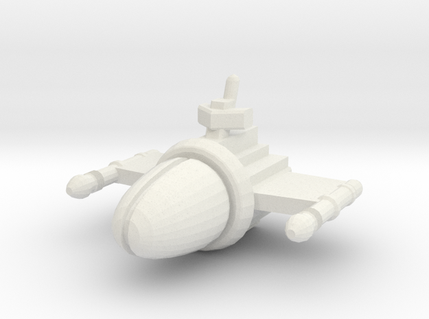SSA102 Chariot Frigate 3d printed