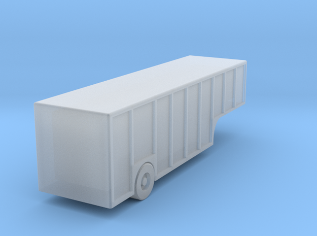 Beverage Trailer - Zscale in Smooth Fine Detail Plastic