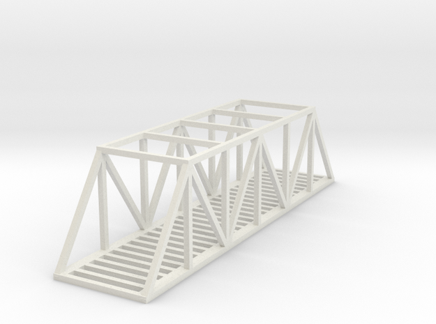 Bridge - 100 foot - Zscale 3d printed