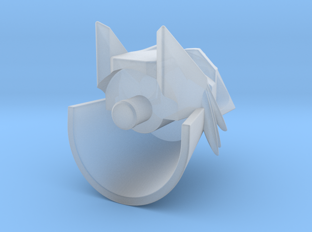 Silverbolt head for Animated Blitzwing 3d printed