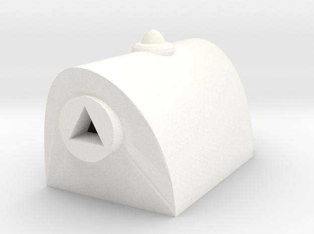 Transmutator in White Processed Versatile Plastic