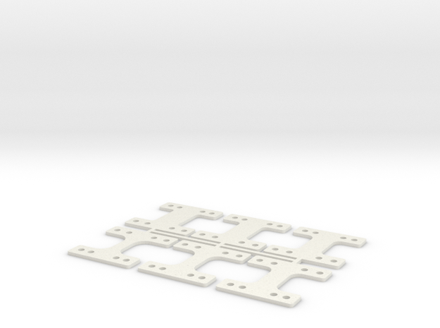 HM-RM 40 THK in White Natural Versatile Plastic