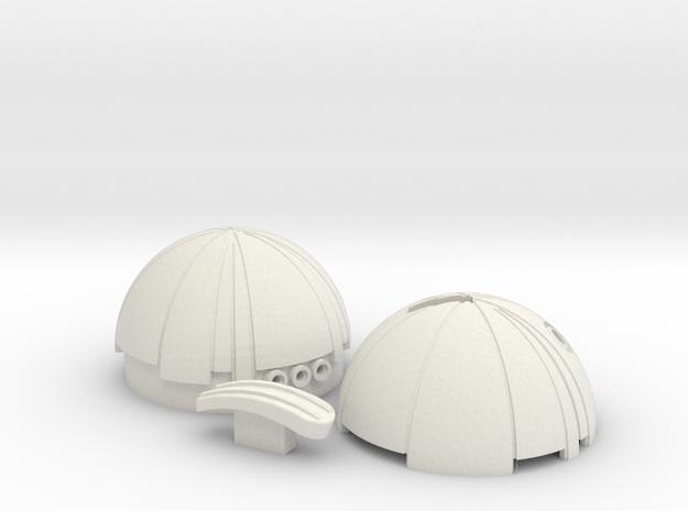 Thermal Detonator from Star Wars in White Natural Versatile Plastic